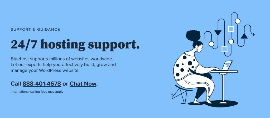 Bluehost-support